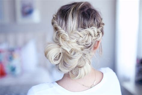 Fishtail Hairstyle by Fancy Fishtail Updo Hairstyles