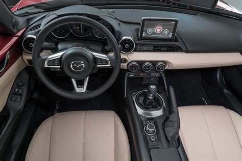 mazda miata 2017 interior 2017 mazda mx 5 miata rf drive review automobile