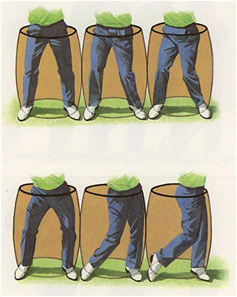 hips first golf swing hip turn swingbarrel