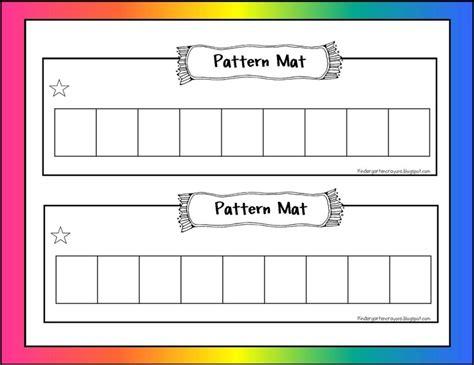 pattern exles for kindergarten 26 best colors shapes and more images on pinterest