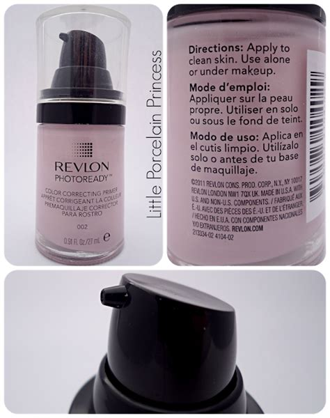 Revlon Primer porcelain princess review revlon photoready color