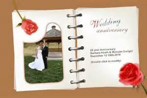 wedding anniversary card 002 wedding anniversery 2 90 5psd photo templates store