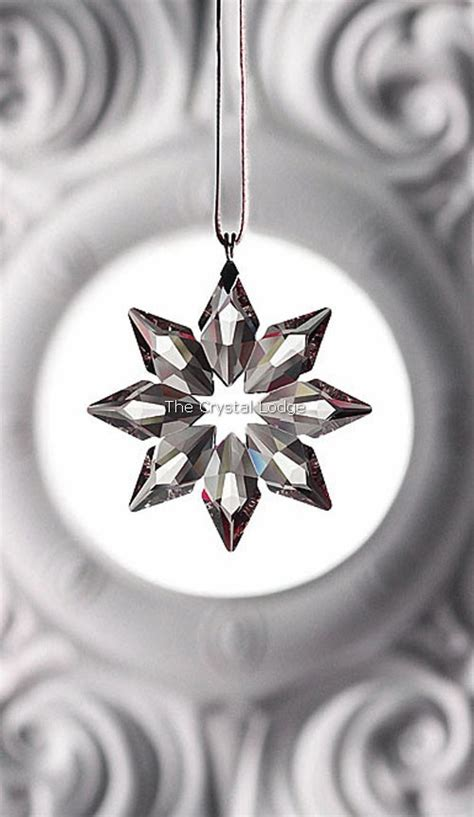 swarovski swarovski 2013 christmas ornament small clear