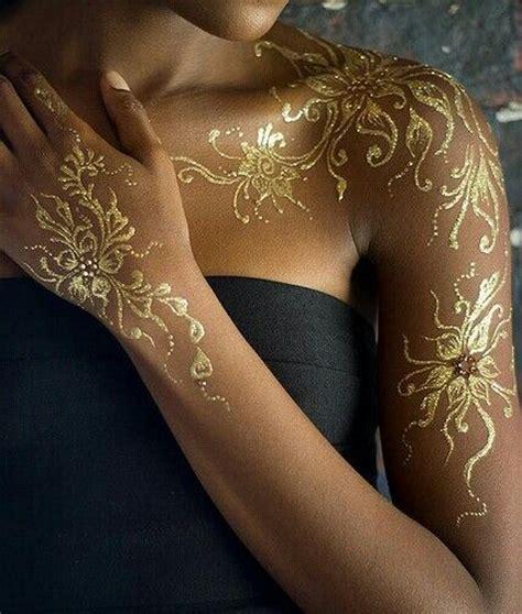 henna tattoo golden mehndi design gol makedes com