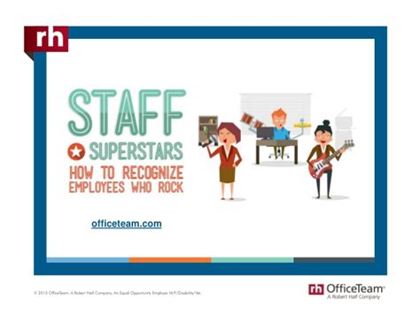 Rh Office Team by Staff Superstars How To Recognize Employees Who Rock