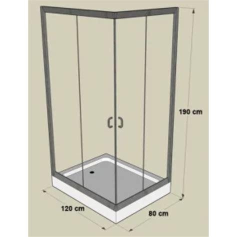 duschkabine mit duschtasse der duschkabine mit duschwanne 120 x 80 x 190 cm