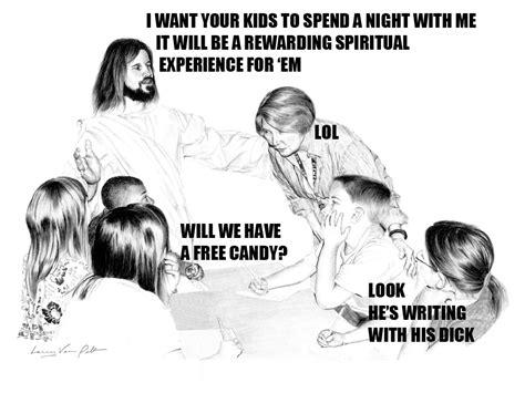 Jesus Is A Jerk Meme - jerk jesus meme