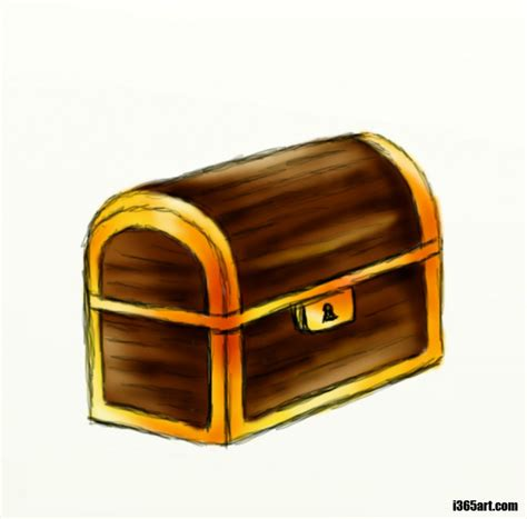 treasure chest how to draw a treasure chest feltmagnet