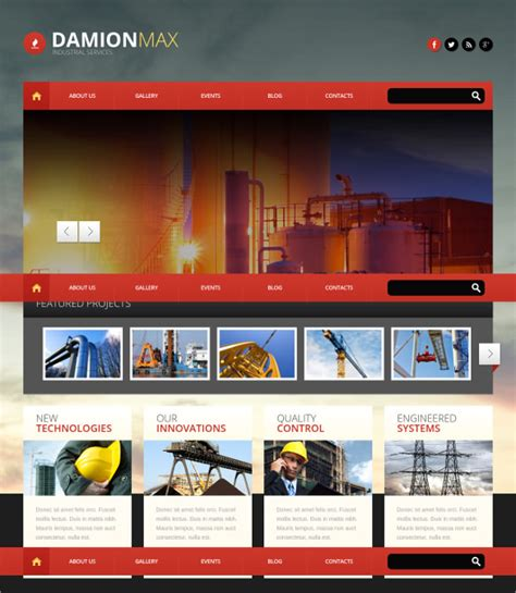 wordpress themes free awesome 14 construction company wordpress themes templates