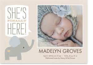 get up to three free custom birth announcement samples