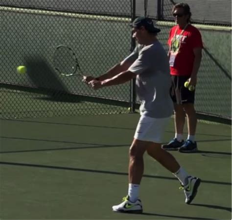 tennis forehand swing path myths of tennis the forehand contact point