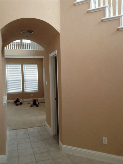 our new rental house but the paint colors help