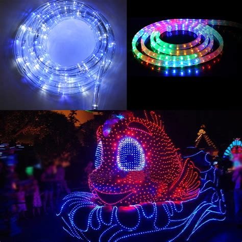 Color Changing Tree Lights - 10m 20m 50m multi color changing led rope lights outdoor