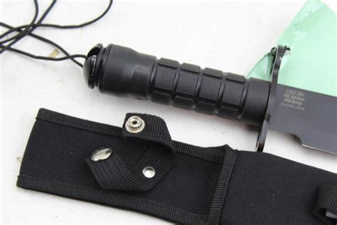 jeep survival knife jeep dcc 2006 fixed blade survival knife and sheath