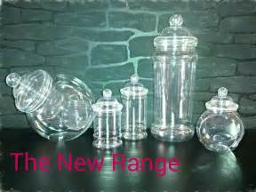 plastic jars for buffet 10 plastic sweet jars tongs scoops bags buffet bar
