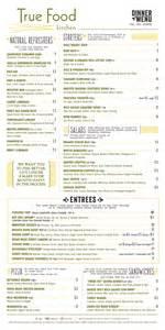 true food kitchen menu tribeca citizen true food kitchen is opening at