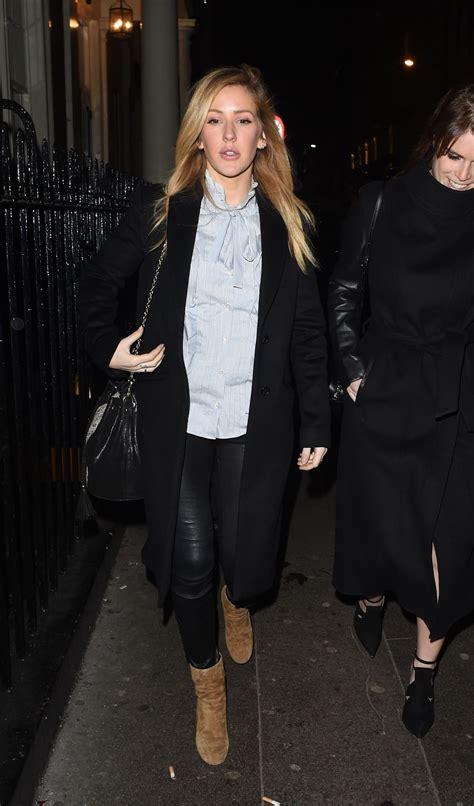 Ellie Goulding 1 ellie goulding leaving the arts club in 1 25 2017