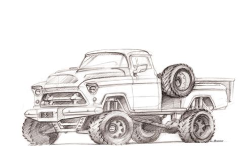 4x4 Sketches by Sketches By Diego Munoz At Coroflot