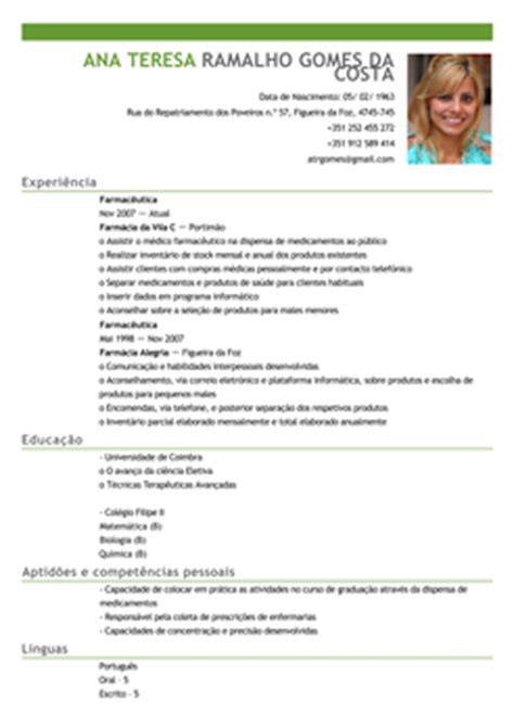 Modelo Curriculum Vitae Europeu Em Portugues Modelo De Curriculum Vitae Em Portugues Modelo De Curriculum Vitae