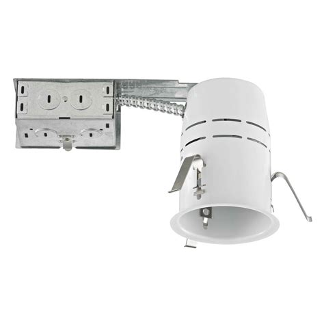 5 remodel can lights 3 5 quot non ic remodel recessed can light with gu10 socket