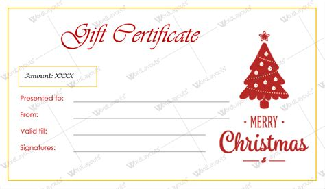 page gift certificate template gift certificate templates for word editable