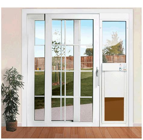 Pane Patio Door by Px Se Series Power Pet Fully Automatic Patio Pet Doors