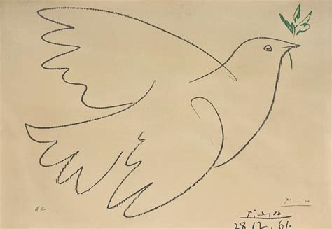 picasso paintings dove of peace dove of peace by after pablo picasso