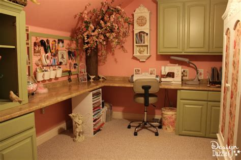 craft made kitchen cabinets my tiny craft room complete with a tree design dazzle