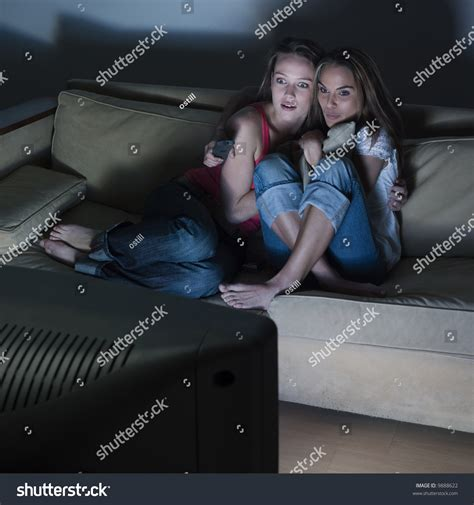 two girls having on couch pictures in a living room of two young girls sitting on a