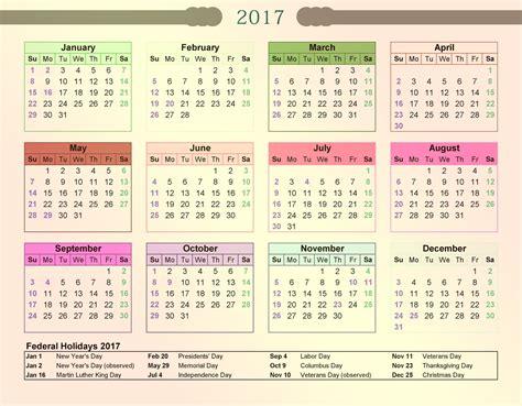 2017 calendar printable 2017 calendar with bank holidays