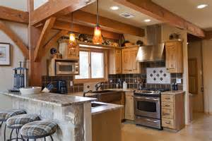 A Frame Kitchen Ideas Weekend Retreat Home Timber Frame Residential Project