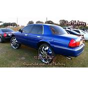 Mercury Grand Marquis Lifted On 30 DUB Phenom Floaters