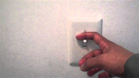 turn on light how to turn a light switch