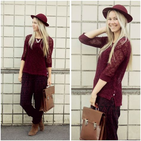 Bordeaux Farbe Kombinieren by Bordeaux Dif Dit Is Fashion Weeste