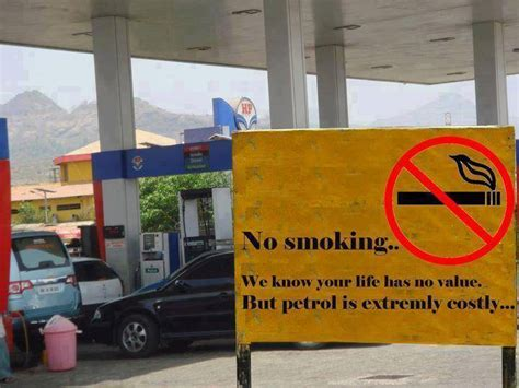Gas Station Meme - no smoking at gas station funny pictures quotes memes