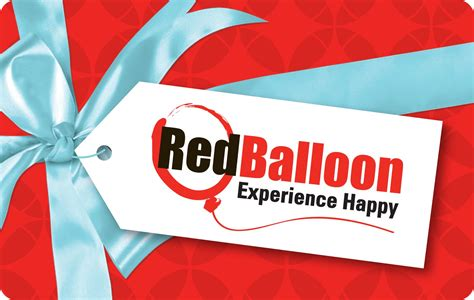 Gift Cards Rewards - red balloon gift card stil rewards