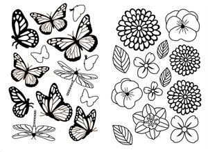 7 best images of butterfly template printable martha
