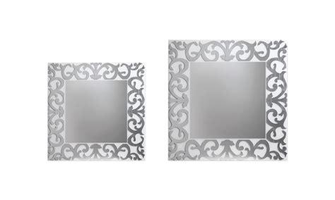 cornice con vetro specchio cornice in vetro retr 242 riflessi