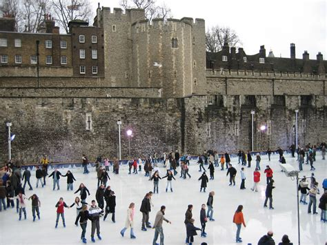 fotos londres invierno patinaje sobre hielo en diferentes ciudades del mundo