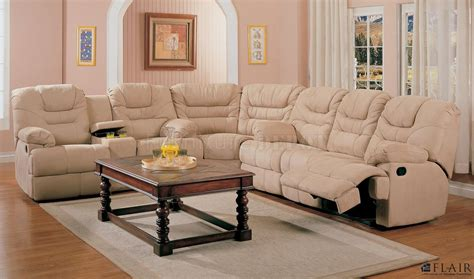reclining sectional sofas microfiber sectional reclining