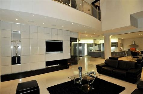 all black living room dazzling modern south african home charms with elegant