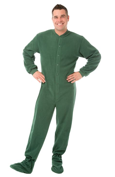 large pajamas buy green footed pajamas for adults here crazyforbargains