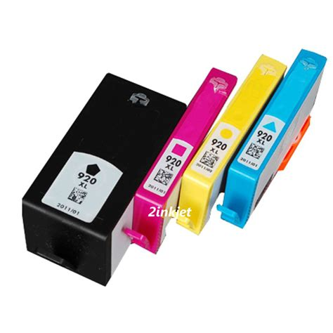 Hp 920 Xl 4pk 920xl ink cartridge for officejet 6000 6500 7000 7500