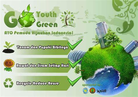 sky fly poster hemat energikebersihan  menanam pohon
