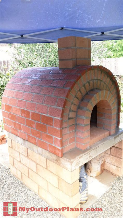 Backyard Brick Oven Plans by Diy Brick Pizza Oven Free Outdoor Plans Diy