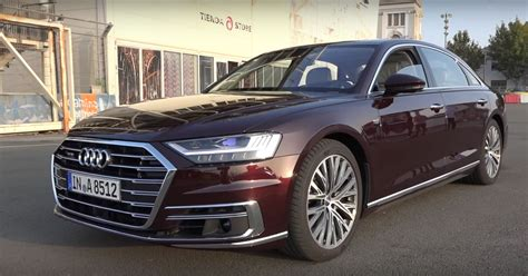Audi A8 Sound by 2018 Audi A8 W12 Has 585 Hp But It Doesn T Sound Good