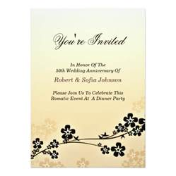 Thanksgiving Luncheon Invitation Anniversary Dinner Invitation Elegant And Classic