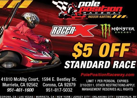 pole position coupon codes
