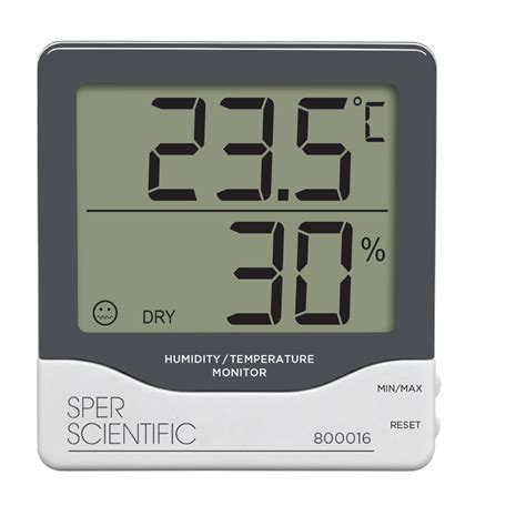 Room Temperature Monitor by Digital Humidity Temperature Monitor Thermometer