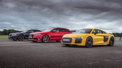 Top Gear Audi R8 by Audi Drag Race R8 V10 Plus Vs Rs6 Vs S8 Top Gear